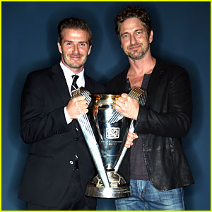 Gerard Butler: MLS Cup 2012 with David Beckham!