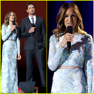Gerard Butler &#038; Sarah Jessica Parker: Nobel Peace Prize Concert!