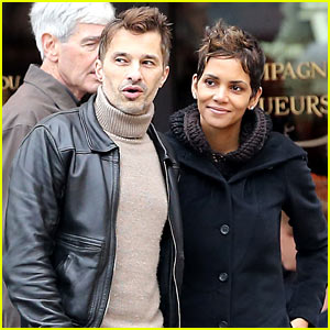 Halle Berry & Olivier Martinez Visit Churches in Paris
