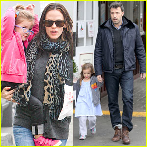 Jennifer Garner & Ben Affleck: Brentwood Country Mart Family!