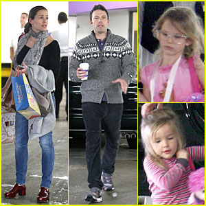 Jennifer Garner & Ben Affleck: Happy Birthday Violet!