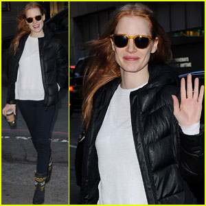 Jessica Chastain: Sunday Show Smiles!