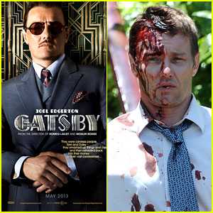 Joel Edgerton: 'Great Gatsby' Poster & Bloody 'Felony' Set Pics!