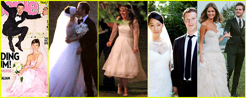 Just Jared's Celebrity Wedding Recap 2012