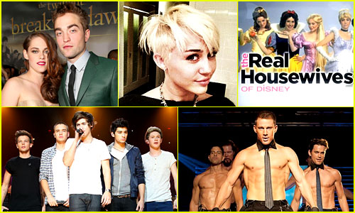 Just Jared's 50 Most Popular Posts of 2012
