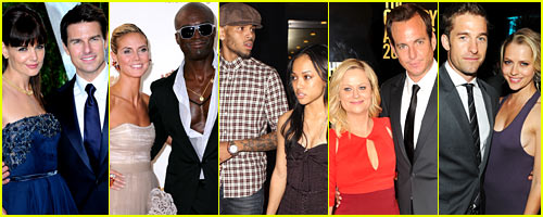 Just Jared's Celebrity Split Recap 2012