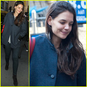 Katie Holmes: Back to Work After Birthday!