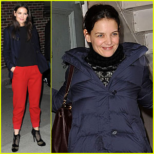 Katie Holmes Talks 'Dead Accounts' Lines Flub