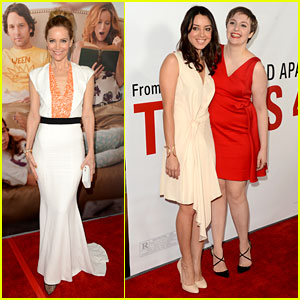 Leslie Mann &#038; Lena Dunham: 'This Is 40' Premiere!