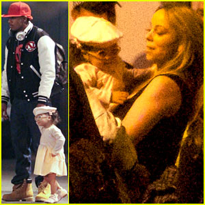 Mariah Carey & Nick Cannon: Australia with the Twins!
