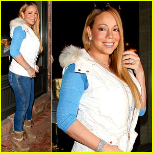Mariah Carey: Shopping in Aspen!