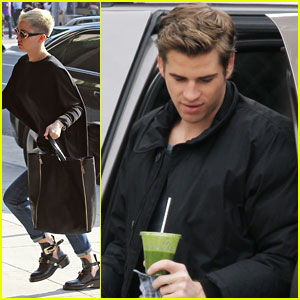 Miley Cyrus & Liam Hemsworth: Solo Outtings!