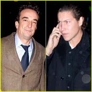 Olivier Sarkozy & Vito Schnabel: Knicks Game Pals!