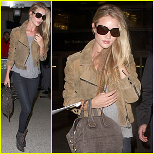 Rosie Huntington-Whiteley: I Looked Up to Gisele Bundchen & Kate Moss!
