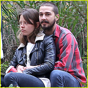 Shia LaBeouf &#038; Mia Goth: Descanso Gardens Date!