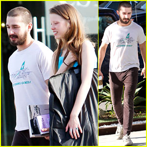 Shia LaBeouf: Shopping with Mia Goth
