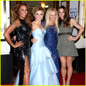 Spice Girls Attend 'Viva Forever' Press Night!