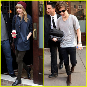 Taylor Swift & Harry Styles: Tuesday Morning Hotel Departure!