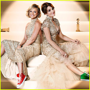 Tina Fey & Amy Poehler: Converse Shoes for Golden Globes!
