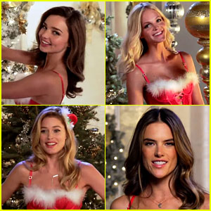 Victoria's Secret Angels Sing 'Deck the Halls' in Holiday Video!