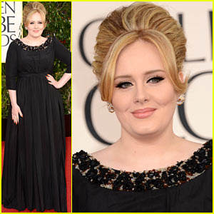 Adele - Golden Globes 2013 Red Carpet