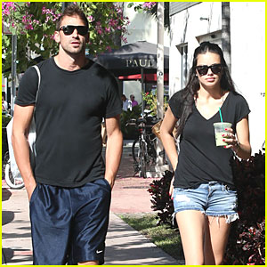 Adriana Lima: Chilling with Husband Marko Jaric!