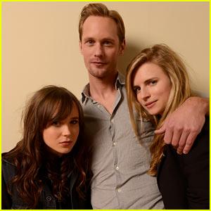 Alexander Skarsgard & Ellen Page: 'The East' Sundance Portraits!