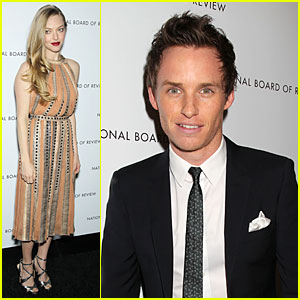 Amanda Seyfried & Eddie Redmayne - NBR Awards Gala 2013
