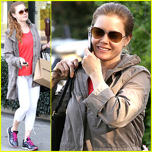 Amy Adams: Busy Day in West Hollywood!