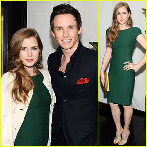 Amy Adams &#038; Eddie Redmayne: 'W' Magazine's Pre-Golden Globes Party!