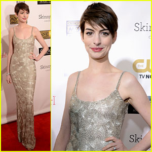 Anne Hathaway - Critics Choice Awards 2013 Red Carpet