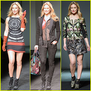 Bar Refaeli: Barcelona Fashion Week Runway Model!
