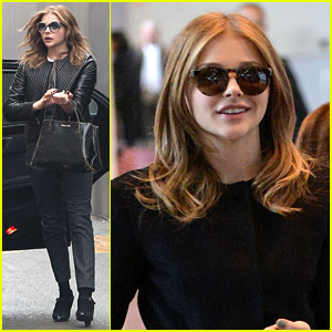 Chloe Moretz: New Hair Color for Paris Fashion Week!
