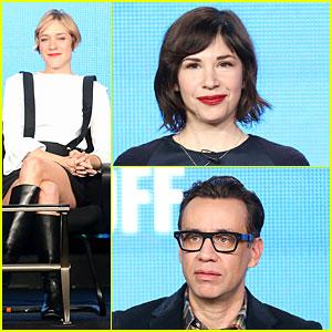 Chloe Sevigny & Carrie Brownstein: 'Portlandia' TCA Panel!