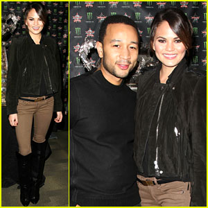 Chrissy Teigen & John Legend: Professional Bull Riders Party