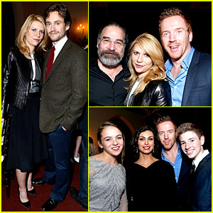 Claire Danes & 'Homeland' Cast: Showtime Dinner!