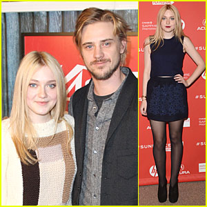 Dakota Fanning & Boyd Holbrook: 'Very Good Girls' Sundance Premiere!