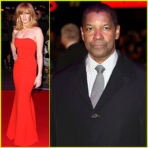 Denzel Washington & Kelly Reilly: 'Flight' London Premiere!