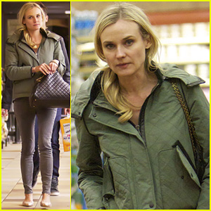 Diane Kruger: Gelson's Grocery Stop!