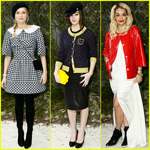 Diane Kruger &#038; Hailee Steinfeld: Chanel Paris Fashion Week Show