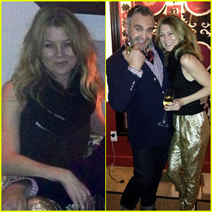 Ellen Pompeo: New Year's Eve Golden Girl!