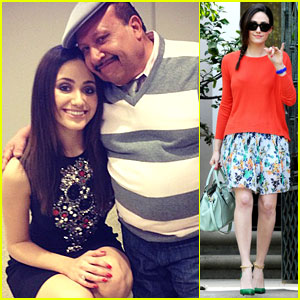 Emmy Rossum: 'Chelsea Lately' with Chuy Bravo!
