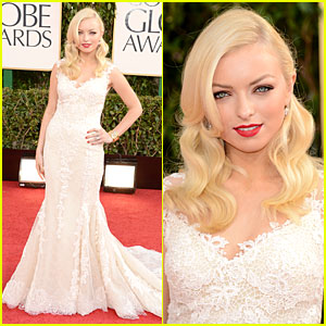 Francesca Eastwood - Golden Globes 2013 Red Carpet