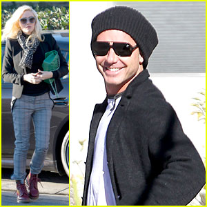 Gwen Stefani & Gavin Rossdale: Winter Coffee Couple!