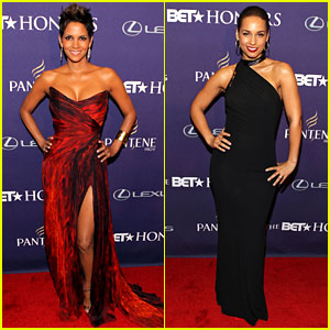 Halle Berry &#038; Alicia Keys - BET Honors 2013 Red Carpet