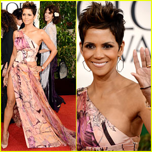 Halle Berry - Golden Globes 2013