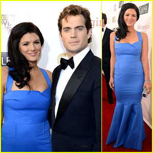 Henry Cavill & Gina Carano: New Couple at Critics' Choice Awards 2013?