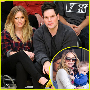 Hilary Duff & Mike Comrie: Lakers Lovers!