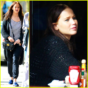 Jennifer Lawrence: Kings Road Cafe Lunch!