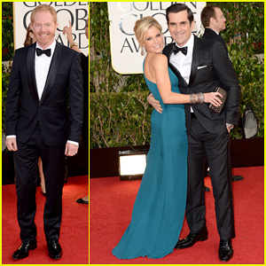 Jesse Tyler Ferguson - Golden Globes 2013 Red Carpet